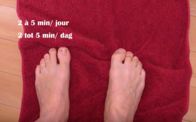renforcement muscles des orteils